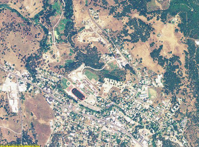 Calaveras County, California aerial photography