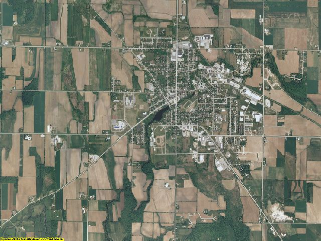 Calumet County, Wisconsin aerial photography