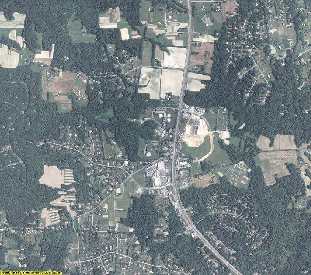 Calvert County, Maryland aerial photography