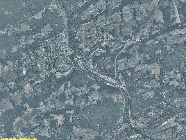 Carbon County, Pennsylvania aerial photography