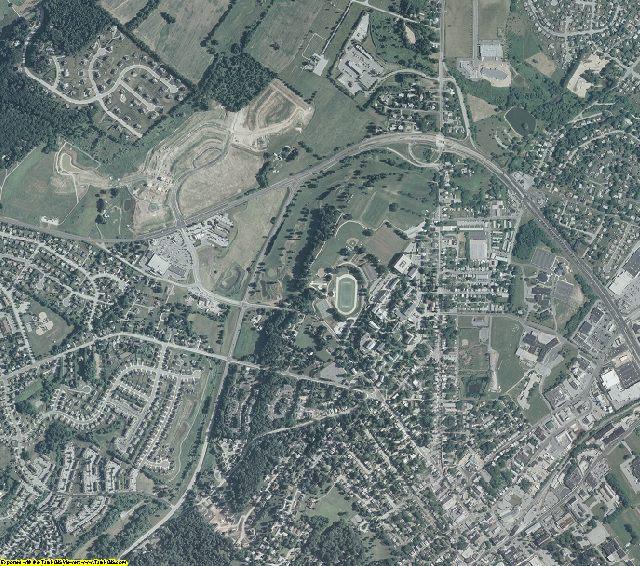 Carroll County, Maryland aerial photography