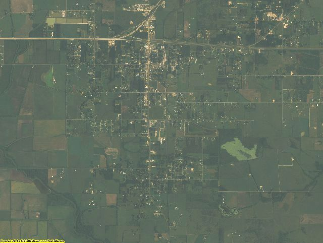 Chambers County, Texas aerial photography