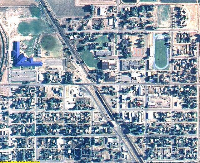 Chaves County, NM aerial photography detail