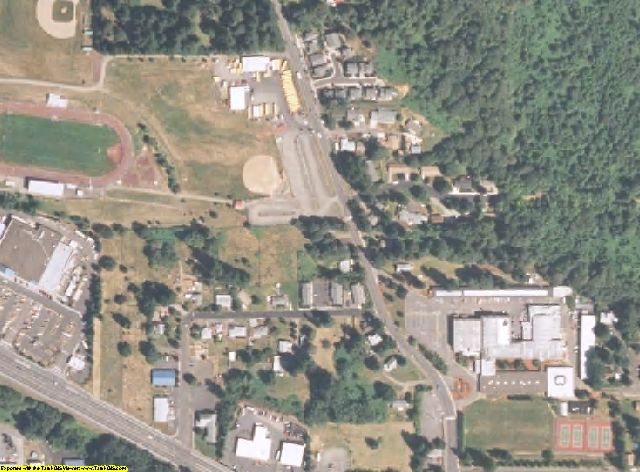 Clackamas County, OR aerial photography detail