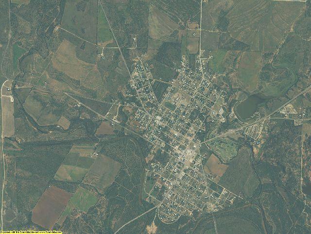 Coke County, Texas aerial photography