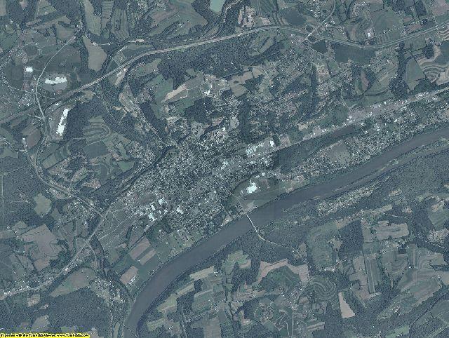 Columbia County, Pennsylvania aerial photography