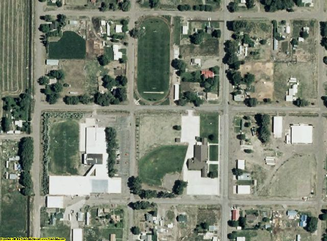 Conejos County, CO aerial photography detail