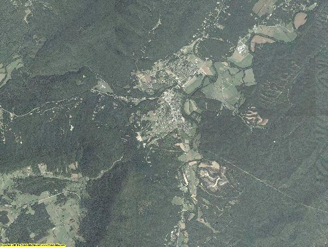 Craig County, Virginia aerial photography