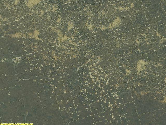 Crane County, Texas aerial photography