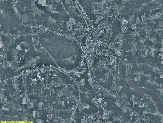 Crawford County, Pennsylvania aerial photography