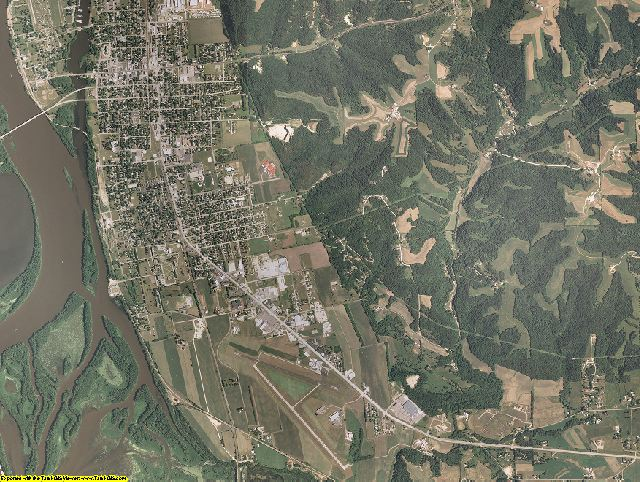 Crawford County, Wisconsin aerial photography