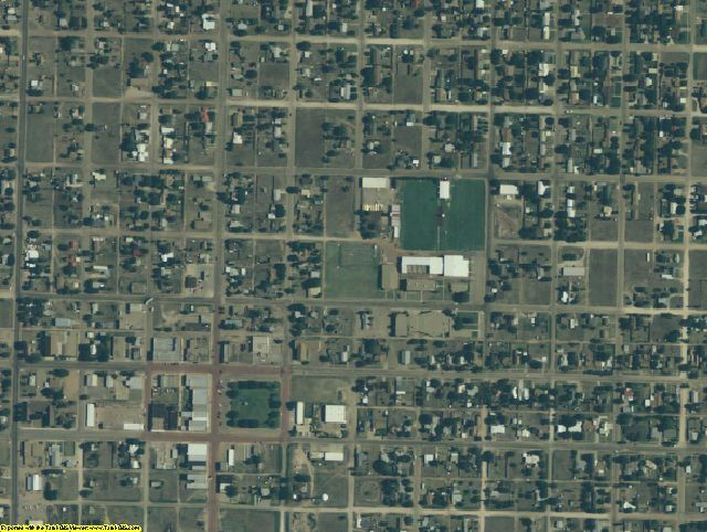 Crosby County, TX aerial photography detail