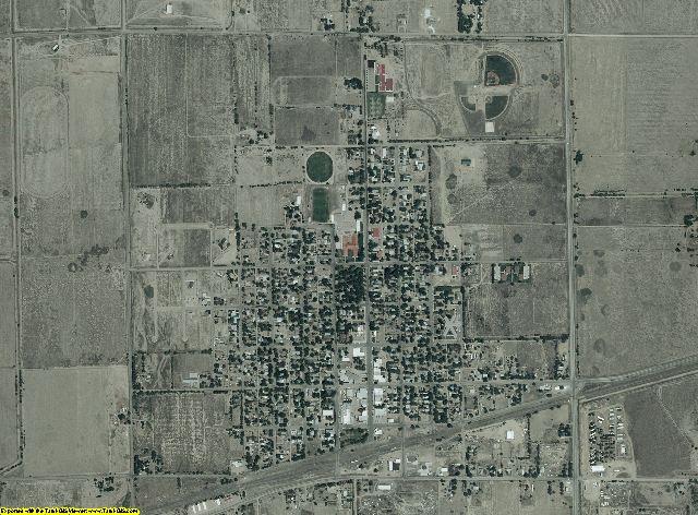 Crowley County, Colorado aerial photography