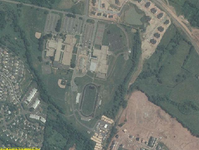 Culpeper County, VA aerial photography detail
