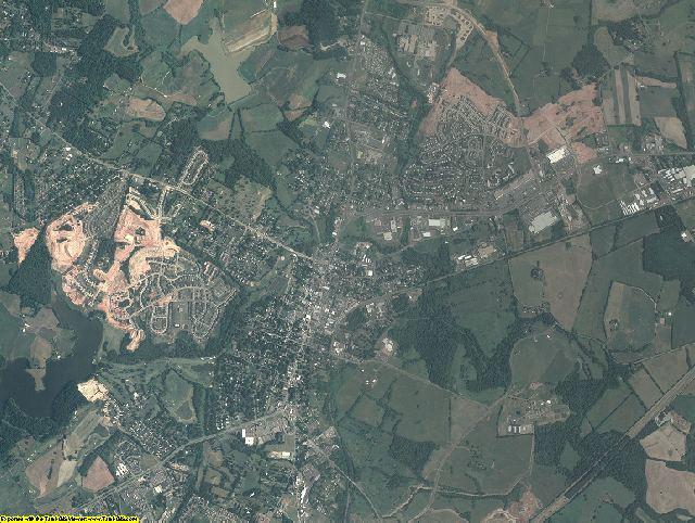 Culpeper County, Virginia aerial photography