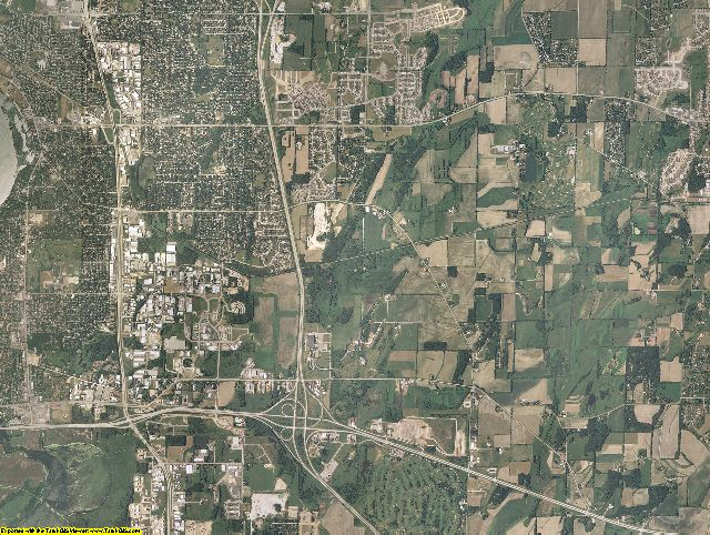 Dane County, Wisconsin aerial photography