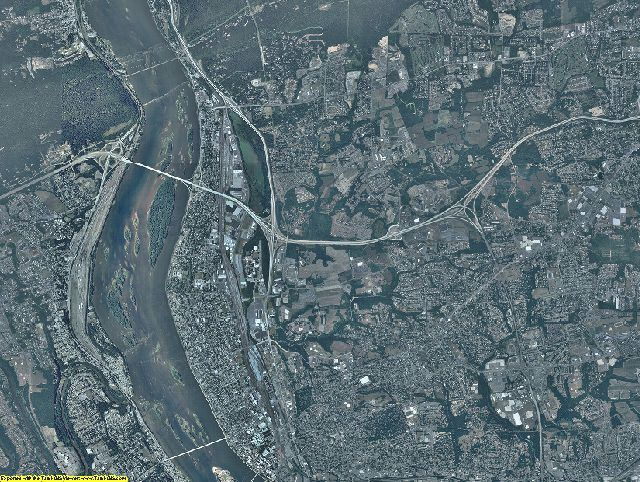 Dauphin County, Pennsylvania aerial photography