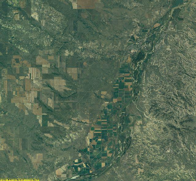 Dawson County, Montana aerial photography