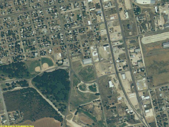 Dawson County, TX aerial photography detail