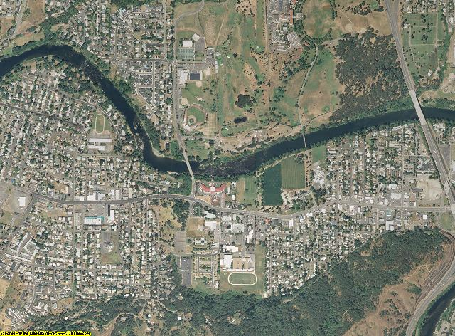 Douglas County, Oregon aerial photography