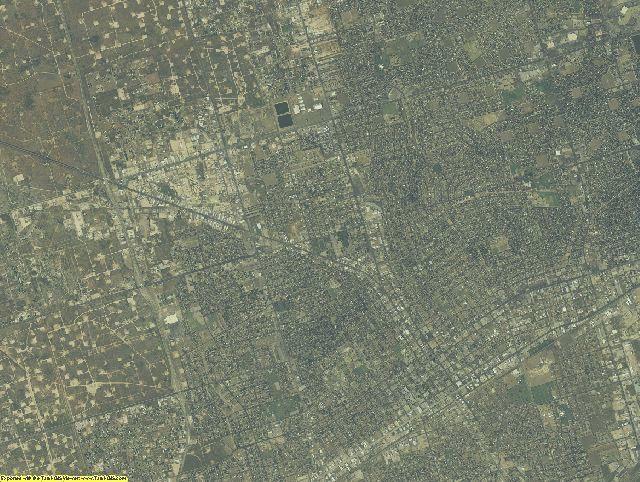 Ector County, Texas aerial photography