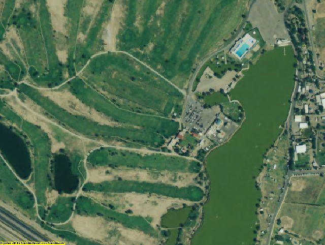 El Paso County, TX aerial photography detail