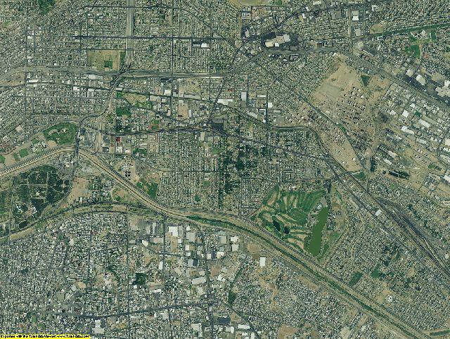 El Paso County, Texas aerial photography