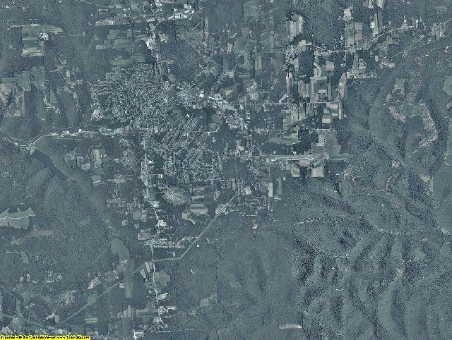 Elk County, Pennsylvania aerial photography