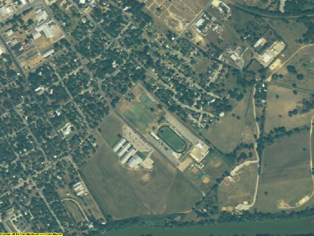 Fayette County, TX aerial photography detail