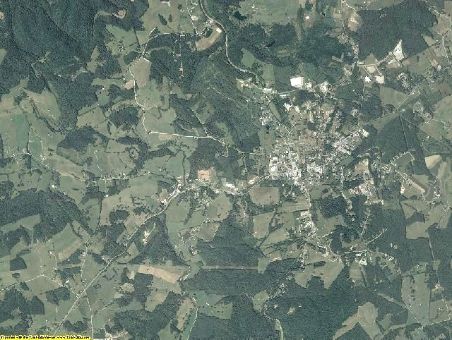 Floyd County, Virginia aerial photography