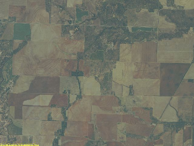 Foard County, Texas aerial photography