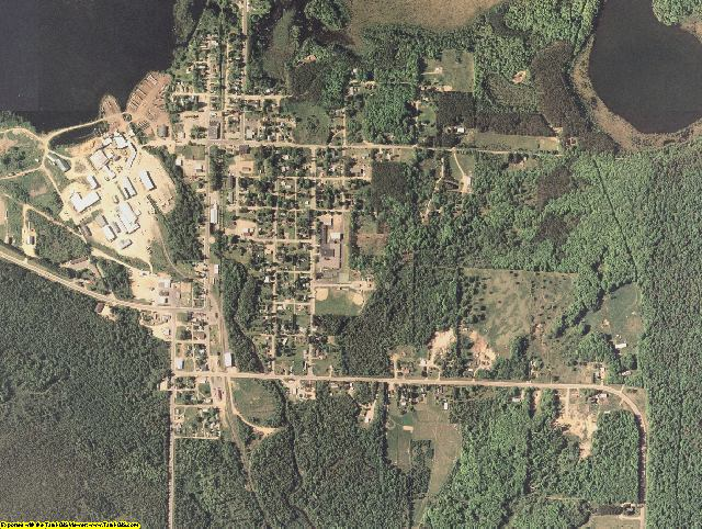 Forest County, Wisconsin aerial photography