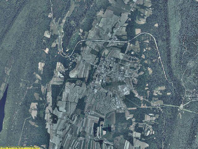 Fulton County, Pennsylvania aerial photography