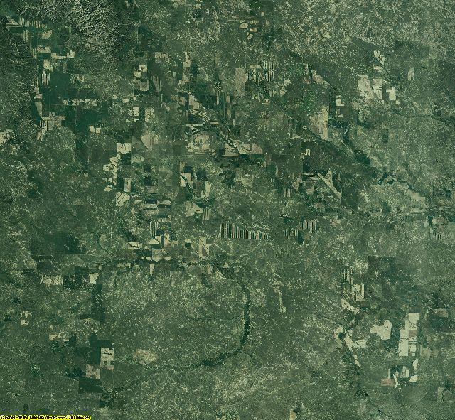 Garfield County, Montana aerial photography