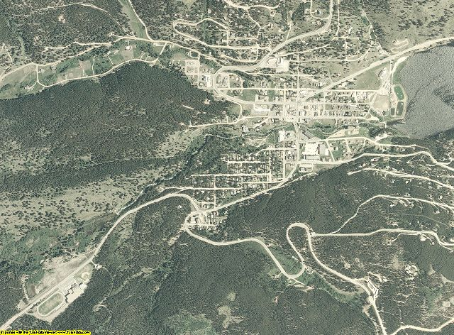 Gilpin County, Colorado aerial photography