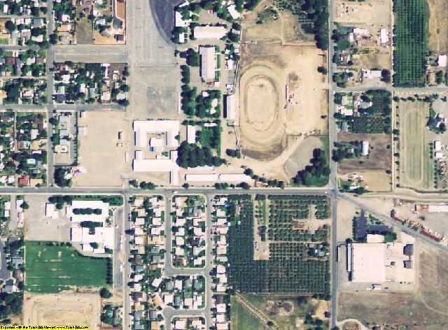 Glenn County, CA aerial photography detail