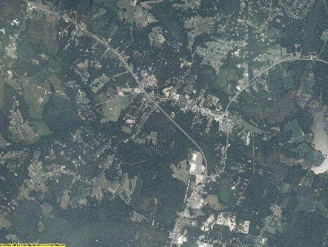 Gloucester County, Virginia aerial photography