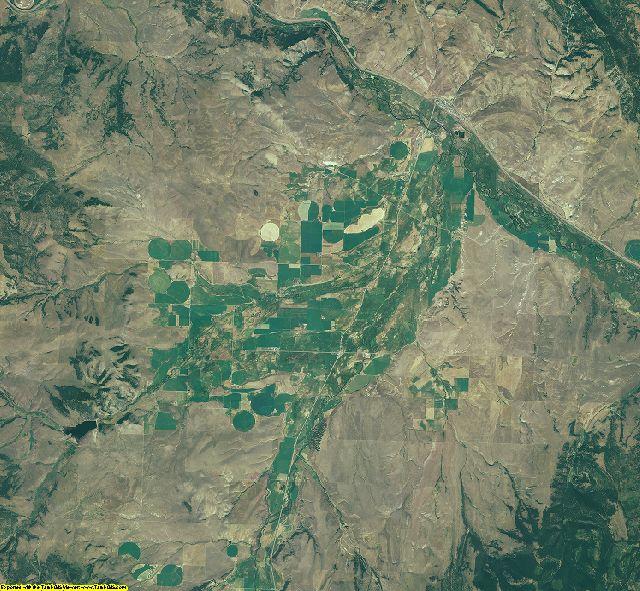 Granite County, Montana aerial photography