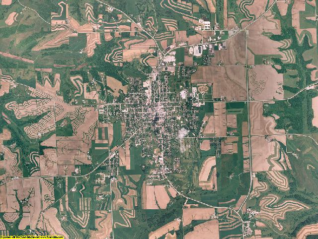 Grant County, Wisconsin aerial photography