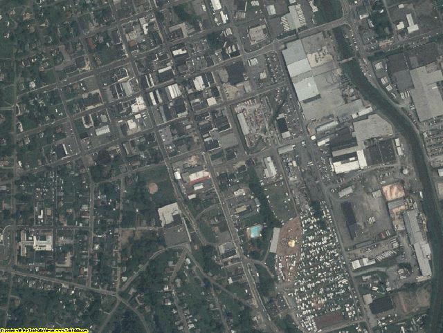 Grayson County, VA aerial photography detail