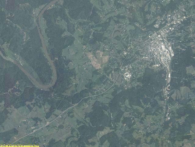 Grayson County, Virginia aerial photography