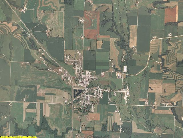 Green County, Wisconsin aerial photography
