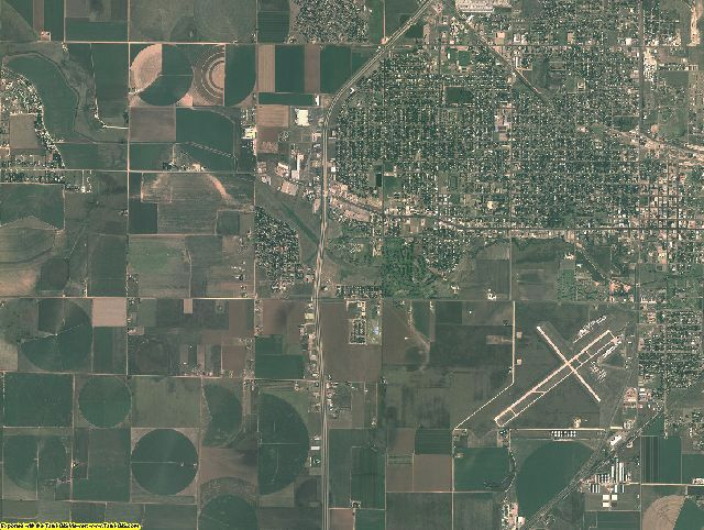 Hale County, Texas aerial photography