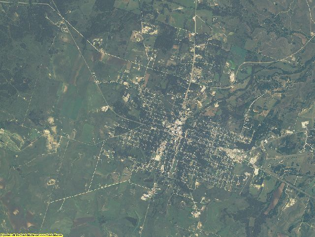 Hamilton County, Texas aerial photography