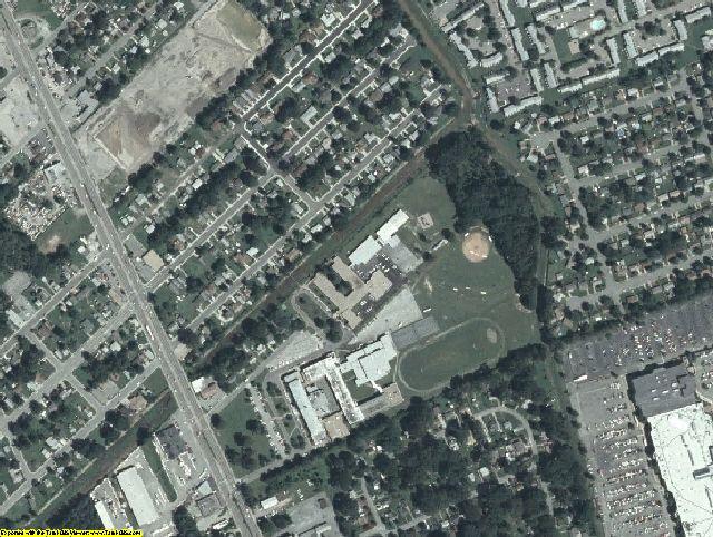 Hampton County, VA aerial photography detail