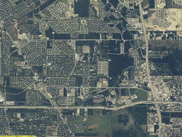 Harris County, Texas aerial photography