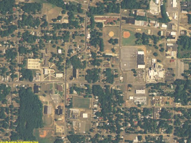 Harrison County, TX aerial photography detail