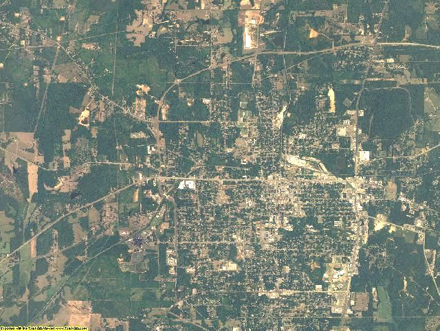 Harrison County, Texas aerial photography
