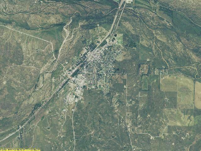 Hemphill County, Texas aerial photography