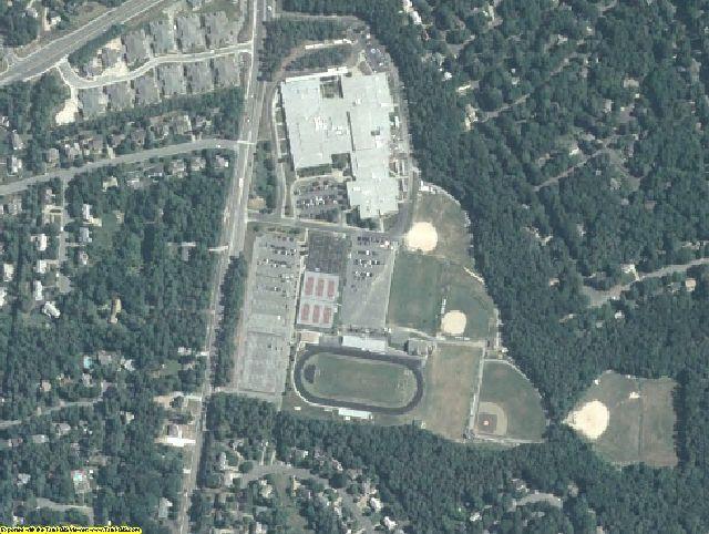 Henrico County, VA aerial photography detail